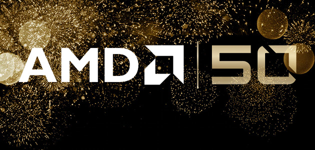 AMD is Celebrating 50 Years of Innovation